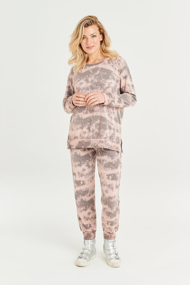 Claudia Cloud Print Joggers