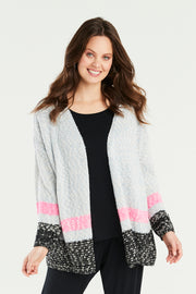 Lamorna Stripe Knit Cardigan