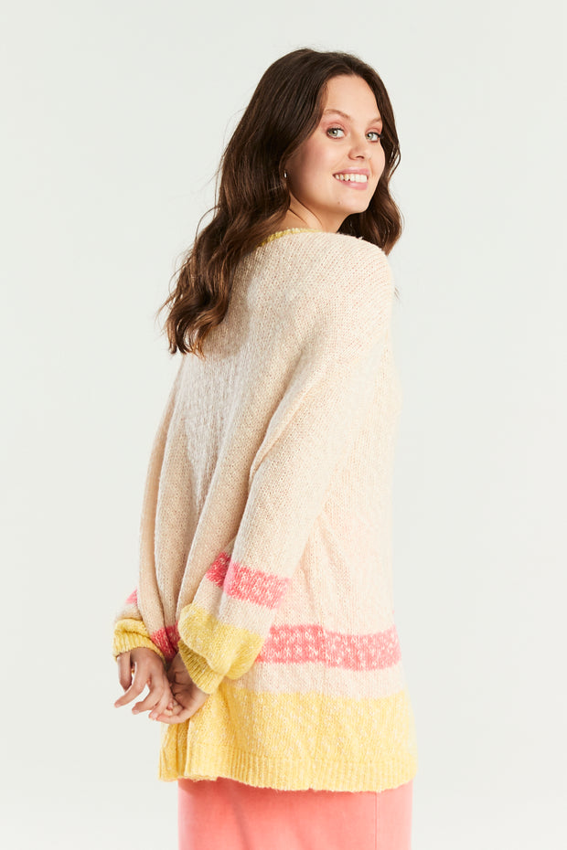 Sennen Stripe Knit Jumper