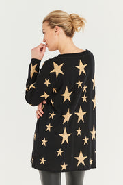 Glam Starry Knit Jumper