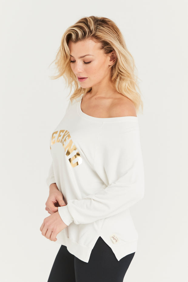 Gold Weekend Sweat