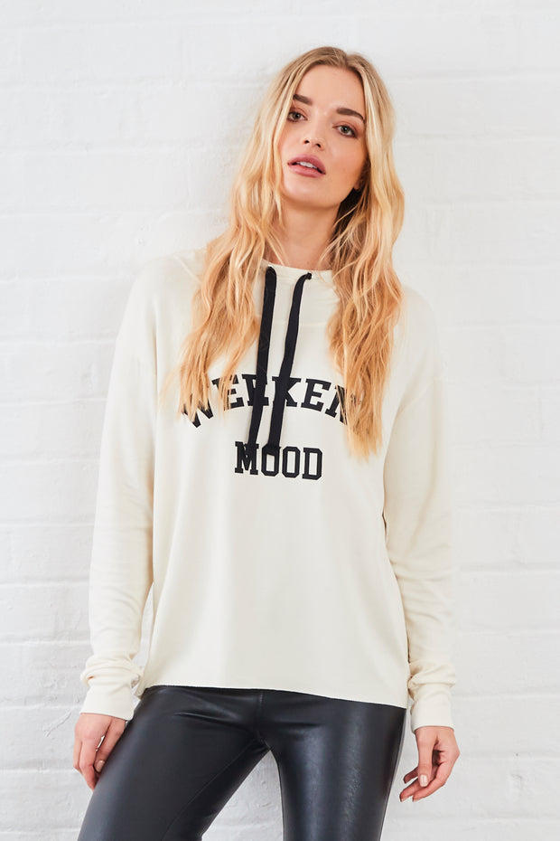 Sundae Tee Kelis Weekend Mood Printed Hoody