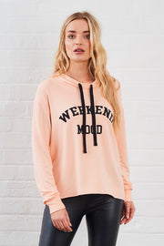 Kelis Weekenda Mood Printed Hoody