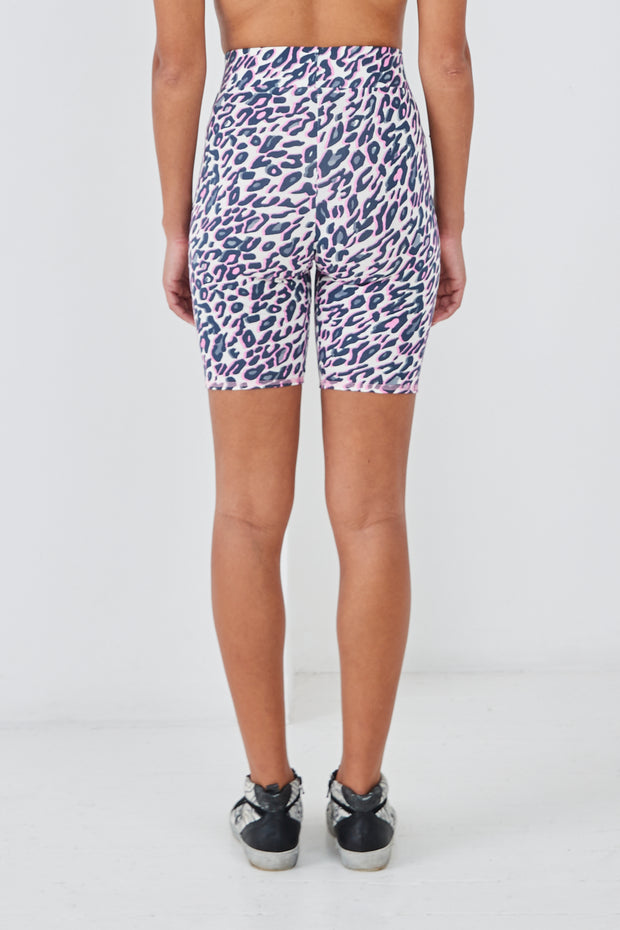 Sundae Tee Libby Animal Print Cycling Shorts