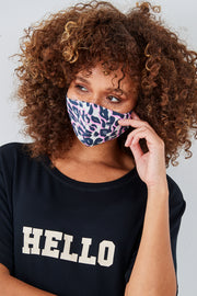 Sundae Tee Cream Animal Print and Black Face Covering 2 Pack