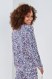 Sundae Tee Lola Lightening Bolt Animal Print Sweat