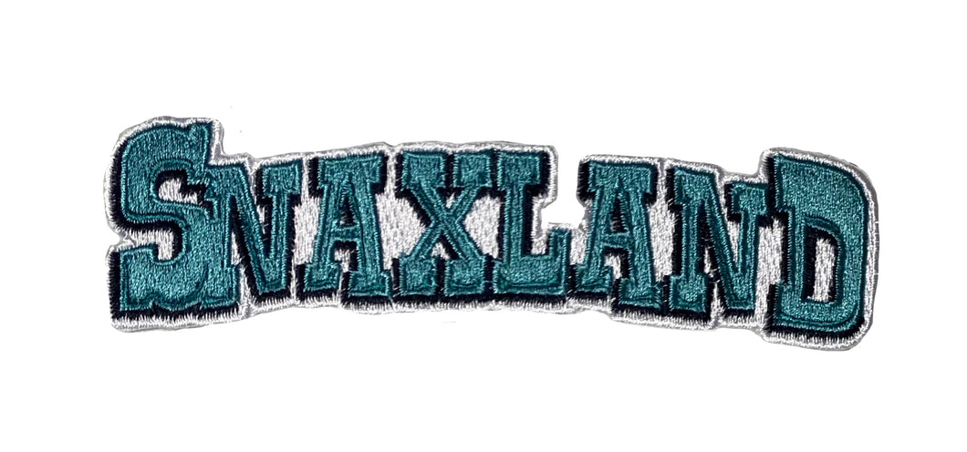 S N A X L A N D - IRON ON - PATCH