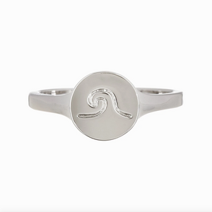 Coin Wave Ring