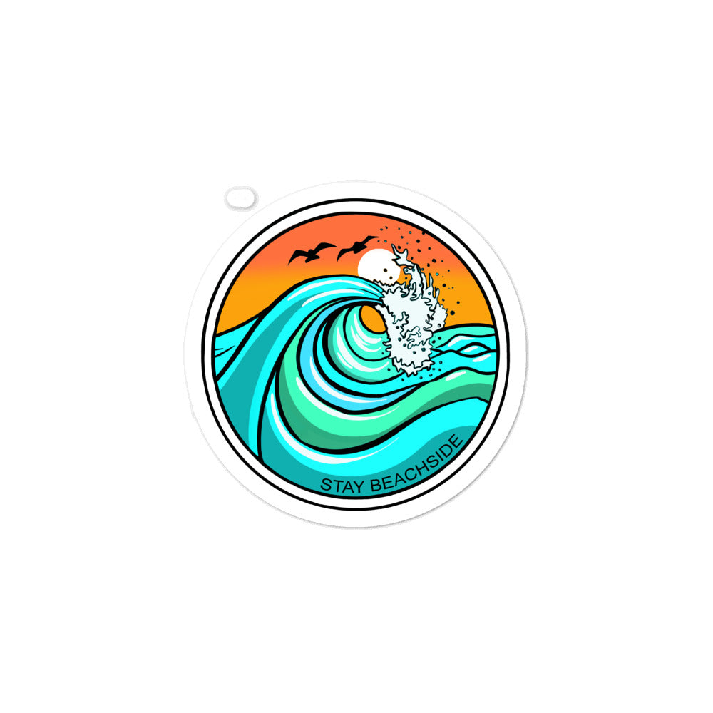 Waves Sticker