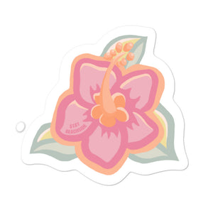Hibiscus Sticker