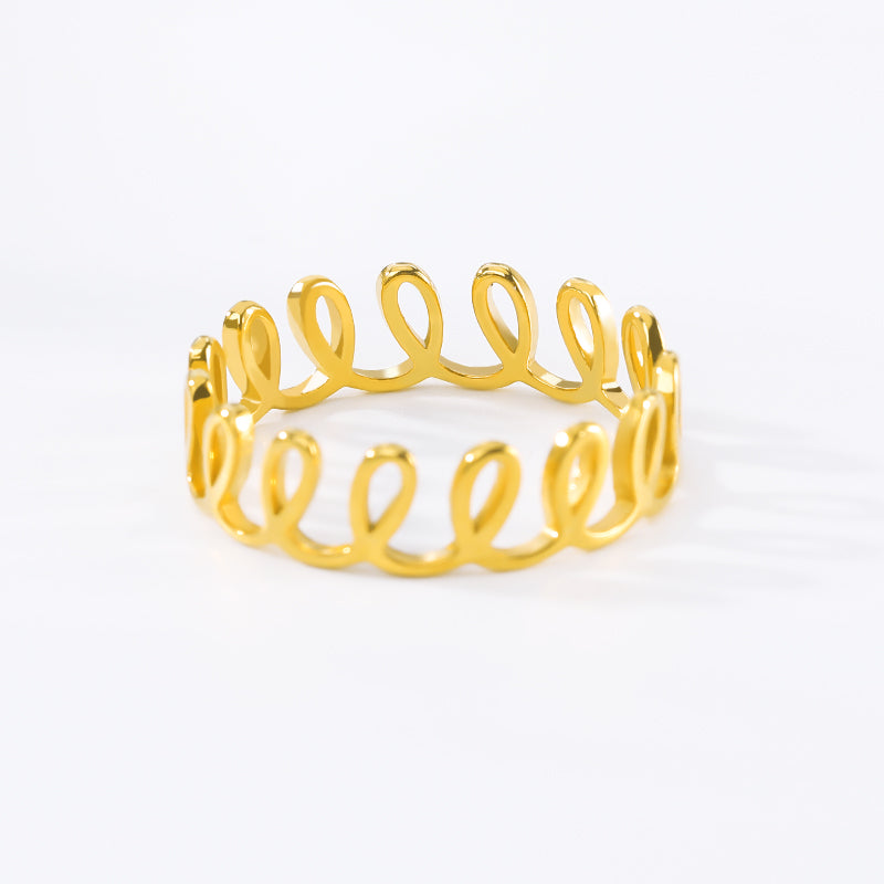Rolling Wave Ring