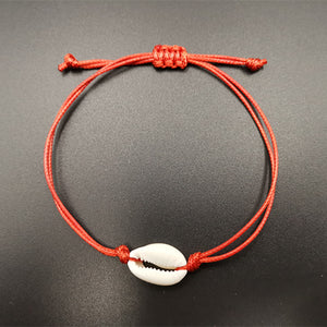Colored Puka Anklet