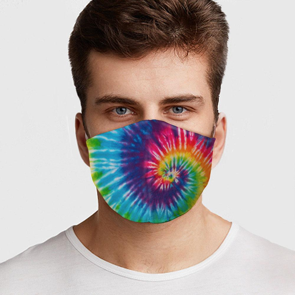 Tie Dye Face Cover
