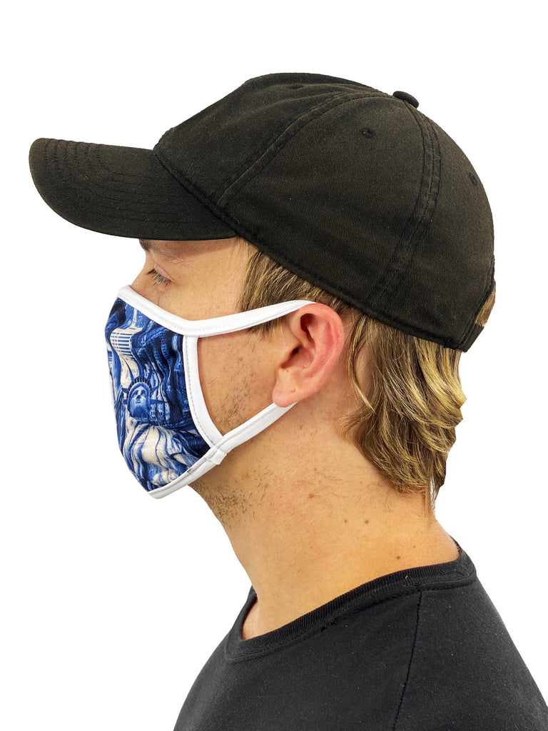 NYC Face Mask With Filter Pocket