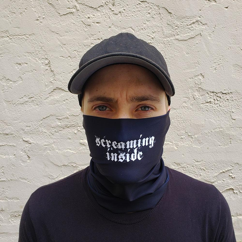 Screaming Inside Neck Gaiter