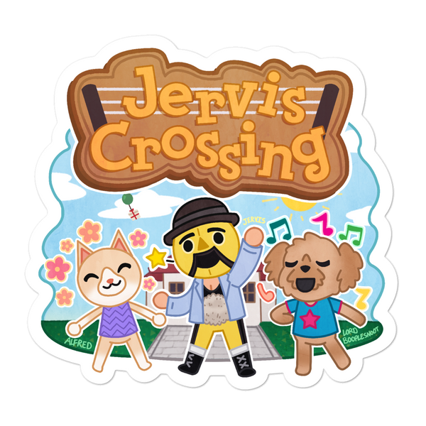 Gentleman Jervis Animal Crossing Sticker