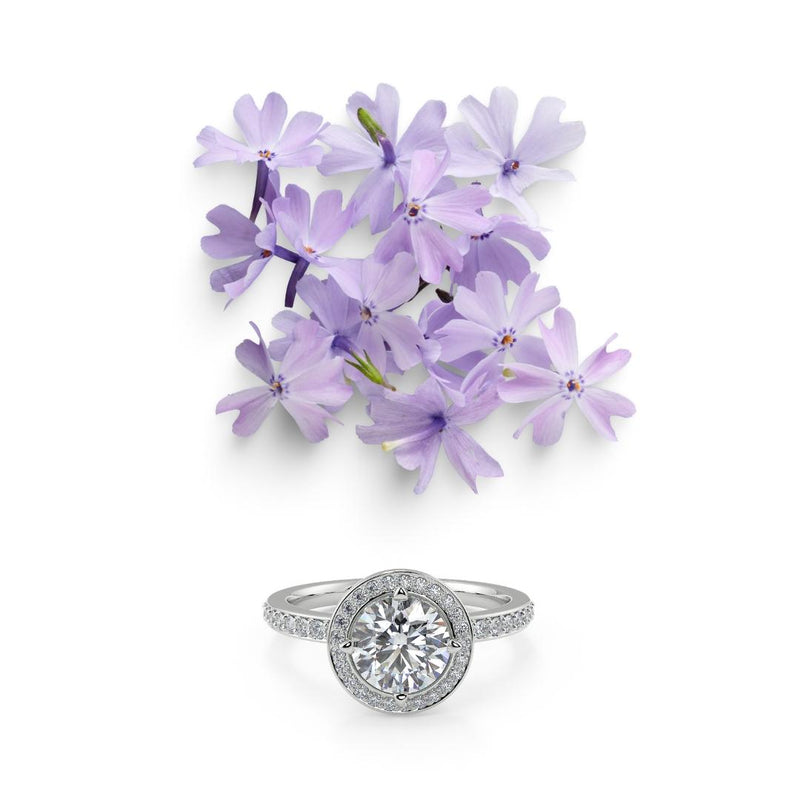 Vasuca® Purple Phlox Ring