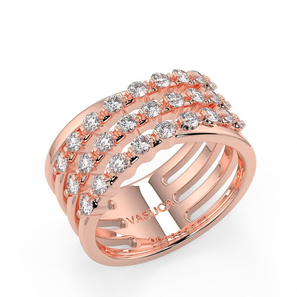 Vasuca® Kuiper Half-Eternity Band