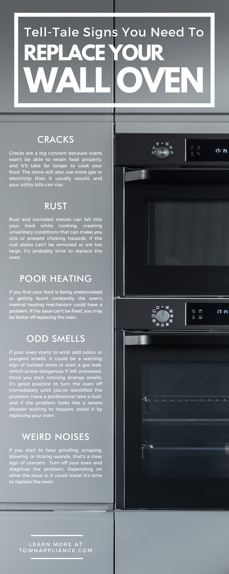 Tell-Tale Signs You Need To Replace Your Wall Oven