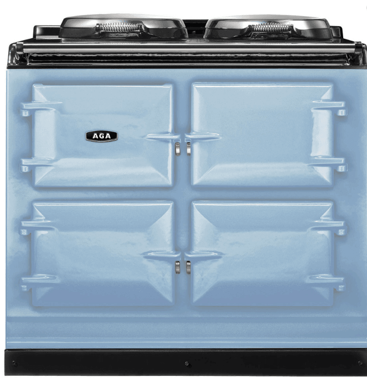 Load image into Gallery viewer, Aga ADC3GDEB Aga 39In Dual Control 3-Oven Natural Gas Cast Iron Range - Duck Egg Blue