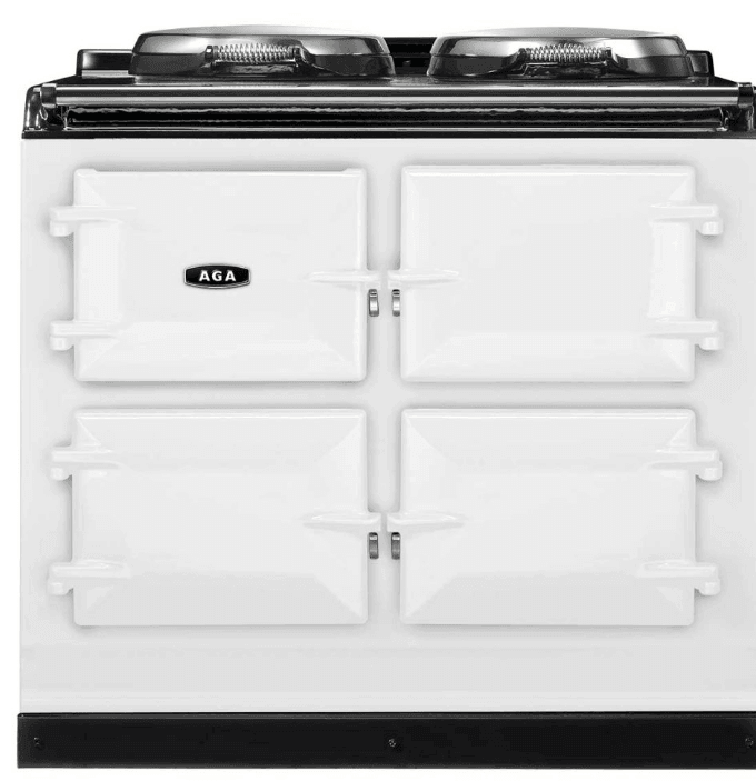 Load image into Gallery viewer, Aga ATC3WHT Aga 39 In Total Control 3-Oven Cast Iron Range - White