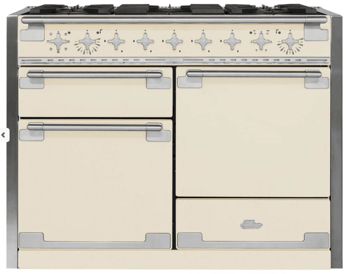 Load image into Gallery viewer, Aga AEL48DFIVY 48In Elise Ng Dual Fuel Range - Ivory