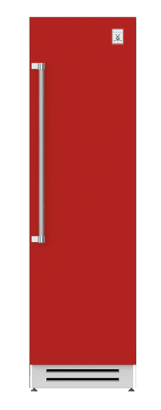 "Load image into Gallery viewer, Hestan KRCR24RD 24"" Column Refrigerator - Right Hinge - Red / Matador"