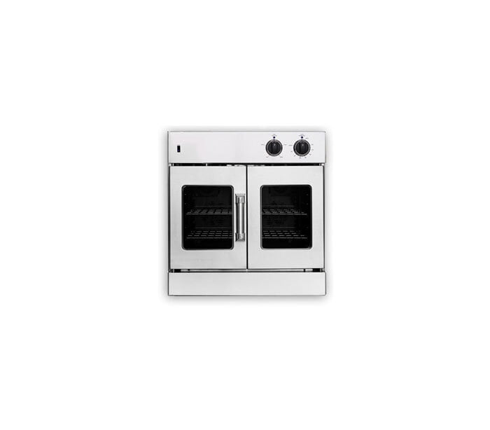 "Load image into Gallery viewer, American Range AROFG30N 30"" Legacy French Door Single Deck Wall Oven - Natural Gas"