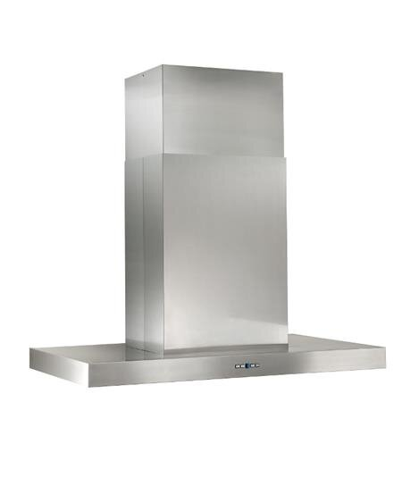 "Load image into Gallery viewer, Best Range Hoods IPB9E48SB Ipb9 48"" X 27"" Stainless Steel Island Range Hood With A Choice Of External Or In-Line Blowers"