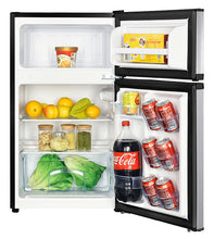 Load image into Gallery viewer, Avanti RA31B3S 3.1 Cf Two Door Counterhigh Refrigerator - Stainless Steel