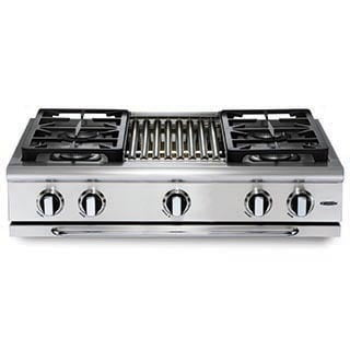 "Load image into Gallery viewer, Capital GRT364W Precision 36"" Gas Range Top"