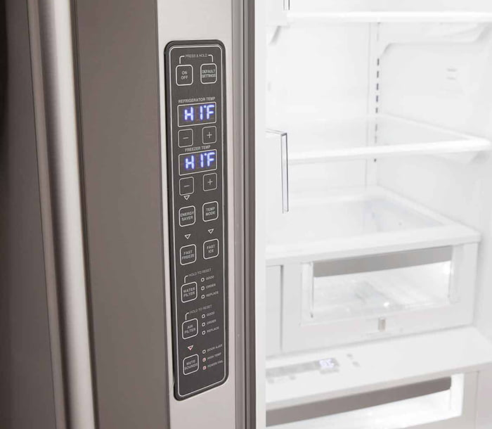 Load image into Gallery viewer, Aga MELFDR23MBL Matte Black Elise French Door Refrigerator
