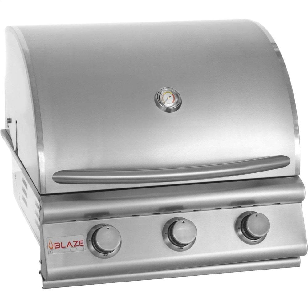Load image into Gallery viewer, Blaze Grills BLZ3LP Blaze 25 Inch 3-Burner Grill, With Fuel Type - Propane