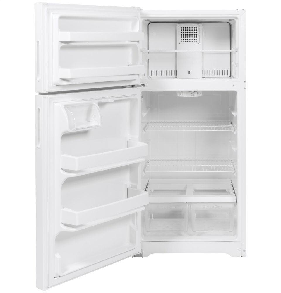 Load image into Gallery viewer, Hotpoint HPS16BTNLWW Hotpoint® 15.6 Cu. Ft. Recessed Handle Top-Freezer Refrigerator