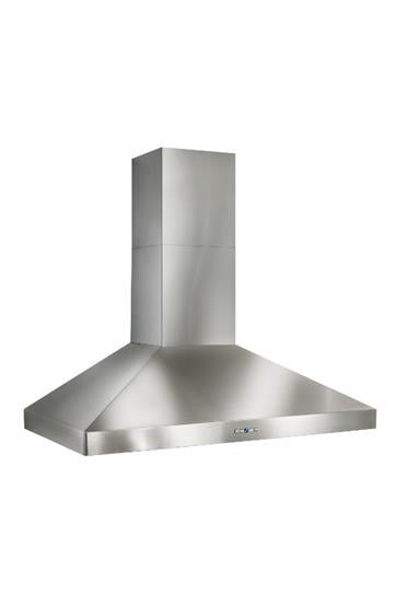 "Load image into Gallery viewer, Best Range Hoods WPP9E42SB Wpp9 - 42"" Stainless Steel Chimney Range Hood With A Choice Of Exterior Or In-Line Blowers, 300 To 1650 Max Cfm"