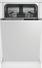 Load image into Gallery viewer, Beko DIS25842 Slim Size Dishwasher, 8 Place Settings, 48 Dba, Fully Integrated Panel Ready