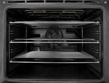 "Load image into Gallery viewer, Blomberg Appliances BERU24102SS 24"" Electric, Convection W/Fan And Circular Element, Smooth Top 4 Zone, Stainless"