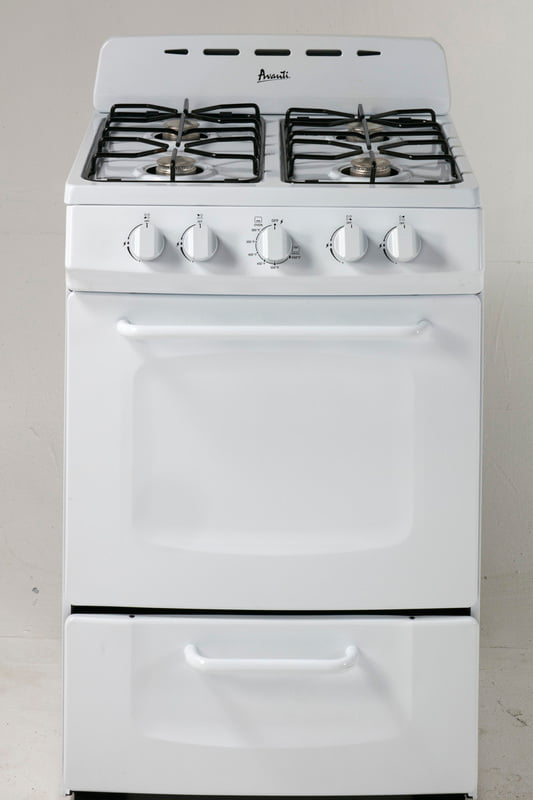 "Load image into Gallery viewer, Avanti GRO24P0W 24"" Freestanding Gas Range"