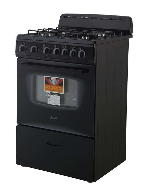 "Load image into Gallery viewer, Avanti GR2415CB 24"" Gas Range"