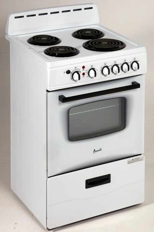 "Load image into Gallery viewer, Avanti ER24P0WG 24"" Electric Range"