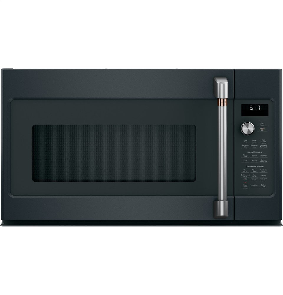Load image into Gallery viewer, Cafe CVM517P3MD1 Café 1.7 Cu. Ft. Convection Over-The-Range Microwave Oven