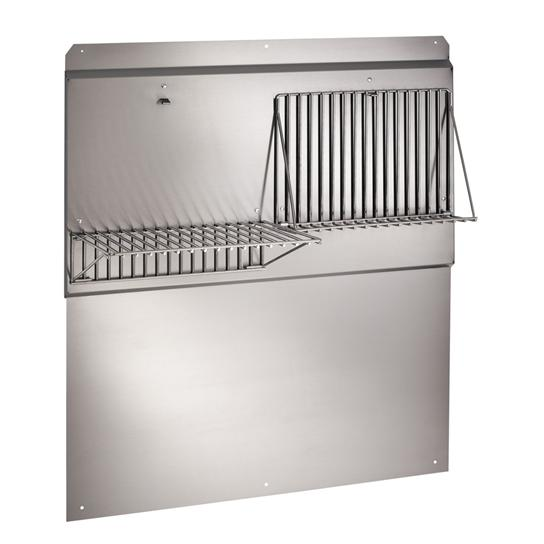"Load image into Gallery viewer, Best Range Hoods ABWPD36SB 36"" Stainless Steel Backsplash"