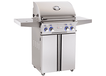 Load image into Gallery viewer, American Outdoor Grill 24NCL00SP Cooking Surface 432 Sq. Inches Portable Grill W/O Rotisserie And Side Burner - Natural Gas