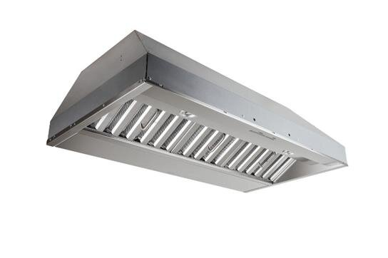 "Load image into Gallery viewer, Best Range Hoods CP57E362SB 36"" Stainless Steel Built-In Range Hood For Use With External Blower Options"