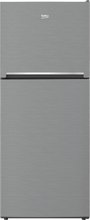 "Load image into Gallery viewer, Beko BFTF2716SS 28"" Freezer Top Stainless Steel Refrigerator"