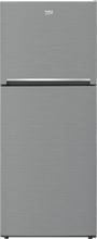 "Load image into Gallery viewer, Beko BFTF2716SSIME 28"" Freezer Top Stainless Steel Refrigerator With Auto Ice Maker And Everfresh+"