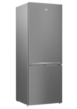 "Load image into Gallery viewer, Beko BFBF2715SSIM 27"" Freezer Bottom Stainless Steel Refrigerator With Auto Ice Maker"
