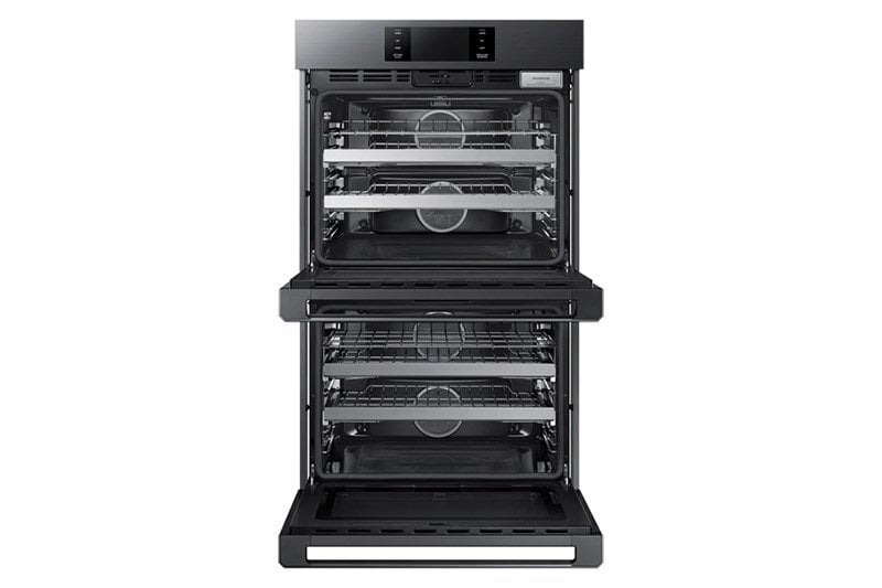 "Load image into Gallery viewer, Dacor DOB30M977DM 30"" Steam-Assisted Double Wall Oven, Graphite Stainless Steel"