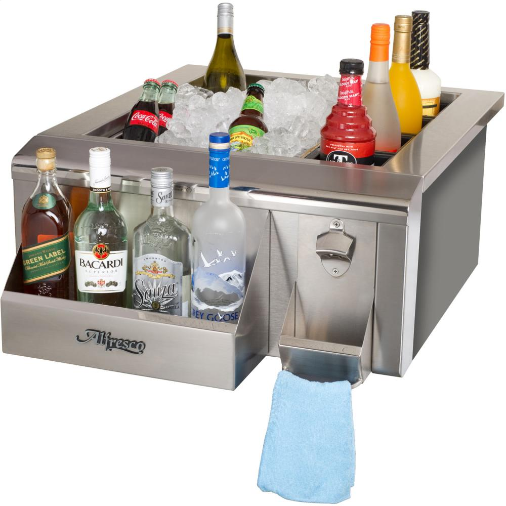 "Load image into Gallery viewer, Alfresco AGBC24 24"" Bartender & Sink System"