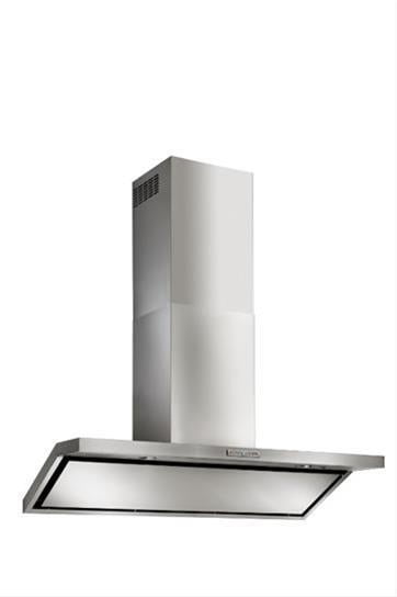 "Load image into Gallery viewer, Best Range Hoods WC46E42SB Circeo - 42"" Stainless Steel Chimney Range Hood For Use With A Choice Of Exterior Or In-Line Blowers"